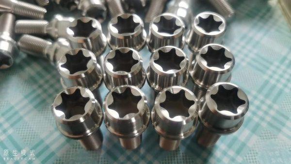 M14*1.5 titanium alloy lug bolts